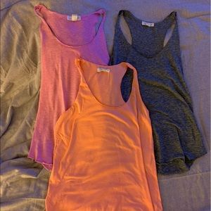 Forever 21 tanks, set of 3